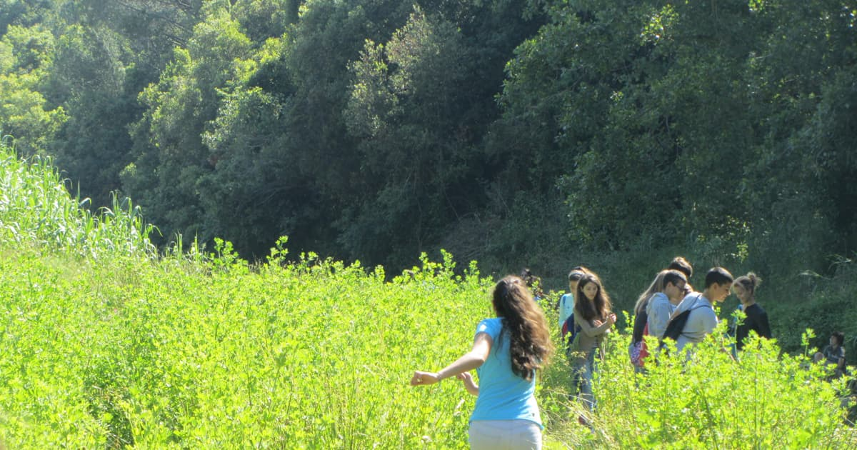Lezione didattica sul Rio Chioma